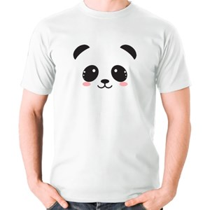 Cute Panda Face With Rosy Cheeks Shirt